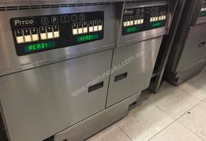 Pitco 32L and 20L double fryer