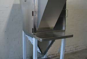 Stainless Steel Bag Dump Station Hopper