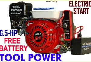 Engine 6.5-hp electric start TOOL POWER + Battery*