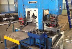 Used Ironworker / Punch and Shear  - Kingsland 100