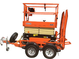 JLG 1932R Scissor Lift & Trailer - picture0' - Click to enlarge