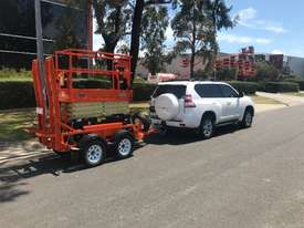 JLG 1932R Scissor Lift & Trailer - picture13' - Click to enlarge