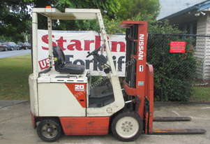 Nissan 2 ton Electric Container entry Used Forklift