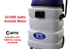 TCS 90L Commercial Industrial Wet & Dry Vacuum Cleaner 2 x 1000W Ametek Motors