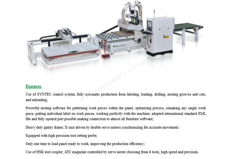 New nanxing NCG3718L Flatbed Nesting CNC in , - Sold on Machines4u