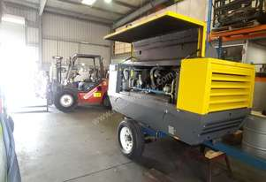 Huge Price Reduction EX Hire Atlas Copco XAS188C 400 CFM Air Compressor