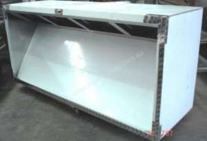 STAINLESS STEEL COMMERCIAL EXHAUST CANOPIES