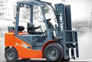 HELI EXPLOSION PROOF FORKLIFTS