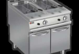 Baron 90FRI/E820 2 x 20L Double Pan Electric Deep Fryer