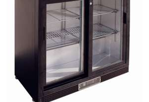 Polar Double Sliding Door Back Bar Cooler Undercounter 870mmH AUS PLUG