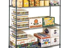 Metroseal III Super Erecta 4 Tier Shelving Kit - 610mm Depth
