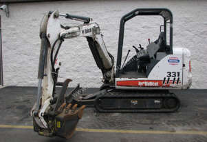 2005 Bobcat 331 Mini Excavator-Excellent Condition