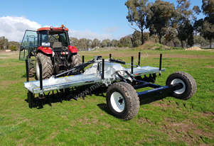 2018 FARMTECH AERVATOR GH 6004CTF (TRAILING, FOLDING, 6.0M CUT)