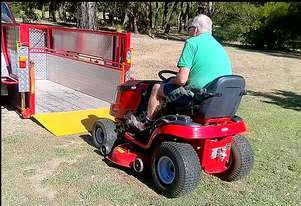 Easy to Load Trailer - great for loading without the Hassle
