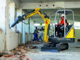 New ET16 rubber tracked excavator - picture0' - Click to enlarge