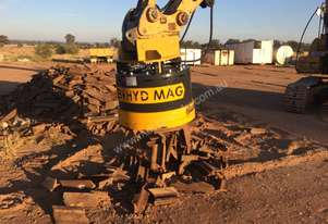 Hydraulic Magnet for excavators