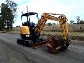 Hyundai R27Z-9 Tracked-Excav Excavator - picture1' - Click to enlarge