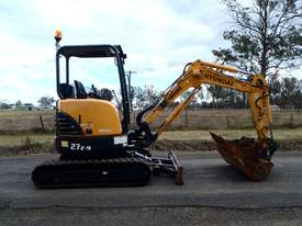 Hyundai R27Z-9 Tracked-Excav Excavator - picture2' - Click to enlarge