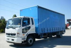Mitsubishi Fighter 1627 Curtainsider Truck