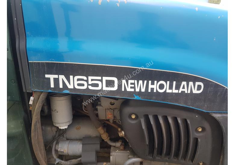 Used New Holland TD65D Cab Tractor