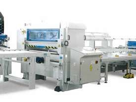 RHINO HOT MASTER PUR / EVA GLUING AND NIP ROLLER PRESS LINE - picture0' - Click to enlarge