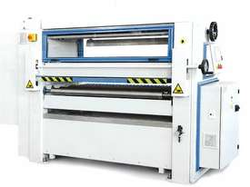 RHINO HOT MASTER PUR / EVA GLUING AND NIP ROLLER PRESS LINE - picture1' - Click to enlarge