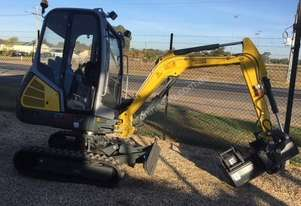 2020 Wacker Neuson ET18VDS CABIN WIT POWERTILT QH