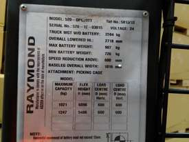 RAYMOND Economy Class 2012 Order Picker  - picture1' - Click to enlarge