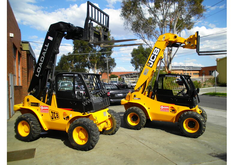 All Terrain Forklift Hire