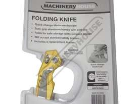 08048 Folding Utility Knife - picture5' - Click to enlarge