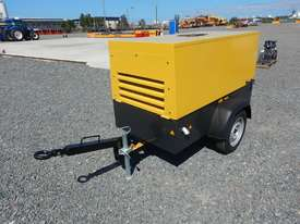 Unused 2018 Atlas Copco LUY050-7 180 CFM Single Axle Compressor - picture0' - Click to enlarge