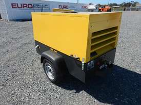Unused 2018 Atlas Copco LUY050-7 180 CFM Single Axle Compressor - picture1' - Click to enlarge