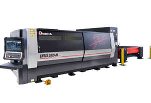 Amada ENSIS 6kW Fiber Laser - Amazing speed and quality - Huge processing range with stability