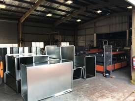HVAC Flanging & Ductwork Fabrication Machinery Direct to The Industry - Largest Range Ex Stock - picture2' - Click to enlarge