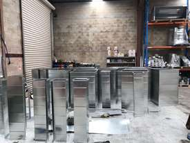 HVAC Flanging & Ductwork Fabrication Machinery Direct to The Industry - Largest Range Ex Stock - picture3' - Click to enlarge