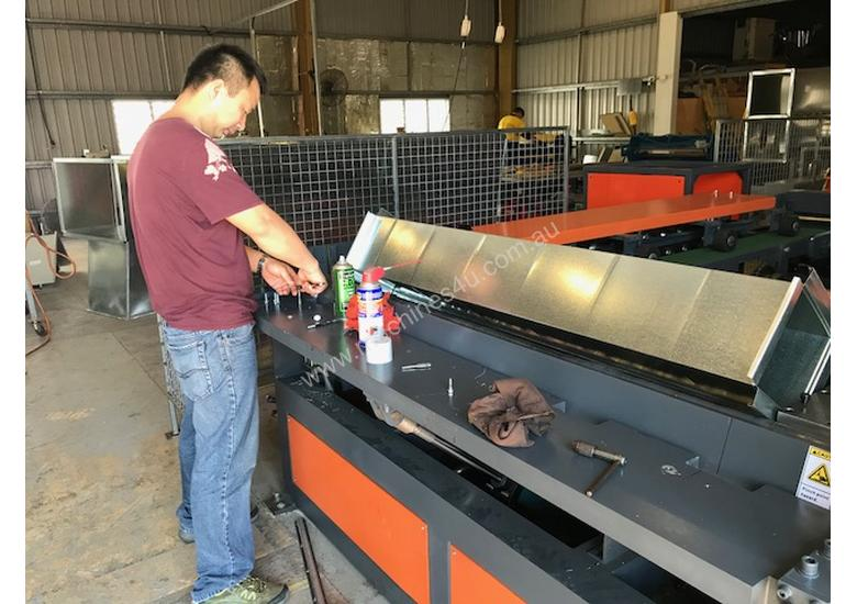 HVAC Flanging & Ductwork Fabrication Machinery Direct to The Industry - Largest Range Ex Stock