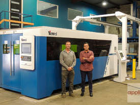 Yawei 8kW HLX-1530 Fiber Laser with Siemens 840D, Precitec, Donaldson & more.... - picture4' - Click to enlarge