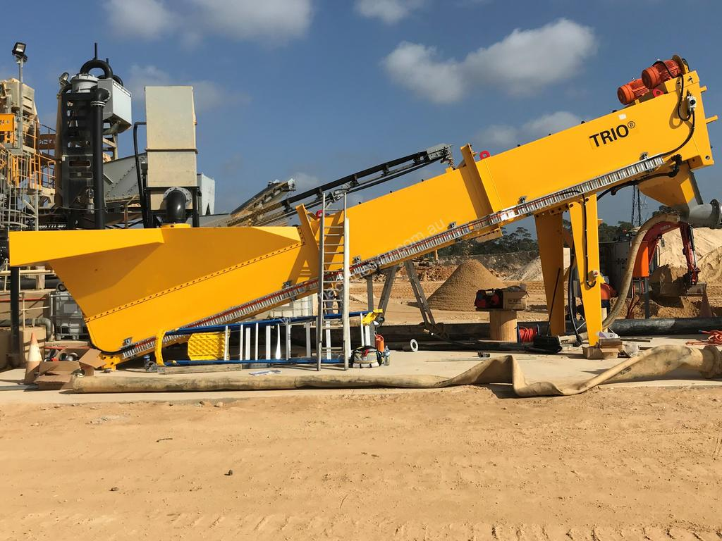 New 2018 Trio Tsw4432 Sand Washing Plant In Listed On