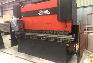 Used Amada Promecam HFBO 125-3000 CNC Pressbrake with light guards and tooling