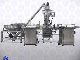 Flamingo Auger Filler Automatic Volumetric with Conveyor and Solid Hopper (EFAFA-5000V) - picture2' - Click to enlarge