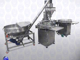 Flamingo Auger Filler Automatic Volumetric with Conveyor and Solid Hopper (EFAFA-5000V) - picture3' - Click to enlarge