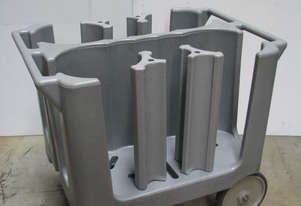 Commercial Catering Kitchen Plate Holder Trolley