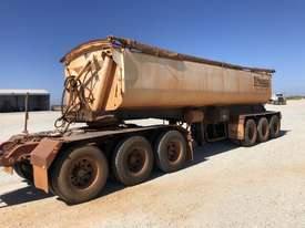 2013 PROCAMAN TRAILERS PCF TRI435 SIDE TIPPER TRAILER - picture0' - Click to enlarge
