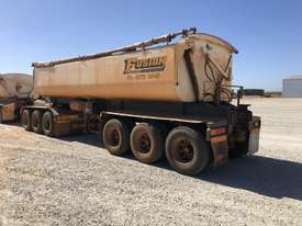 2013 PROCAMAN TRAILERS PCF TRI435 SIDE TIPPER TRAILER - picture1' - Click to enlarge