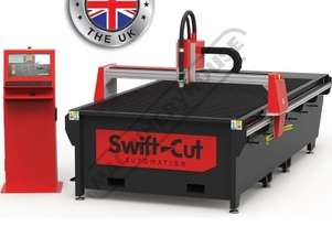 Swiftcut 4000XP CNC Plasma Cutting Table Down Draft system, Hypertherm MAXPRO 200 Cuts up to 32mm