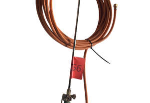 Harris Perkeo LPG scorcher heating torch kit with 10m hose, nozzle and hand piece (no regulator)