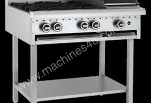 Luus Model BCH-4B3P - 4 Burners, 300 Grill and Shelf