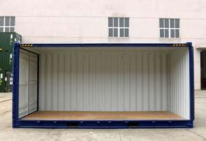 New 20 Foot High Cube Open Side Shipping Container in Stock Melbourne