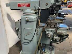 Kondia FV-1 Milling Machine R8 spindle - picture0' - Click to enlarge