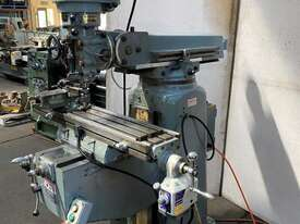Kondia FV-1 Milling Machine R8 spindle - picture1' - Click to enlarge